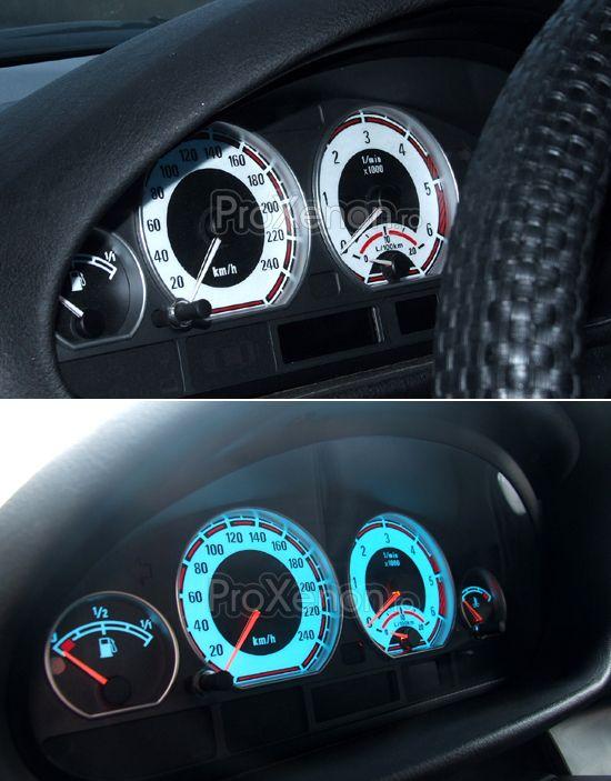 Ceasuri plasma BMW Seria 5 E39 (1996-2003) – modelul nr.2