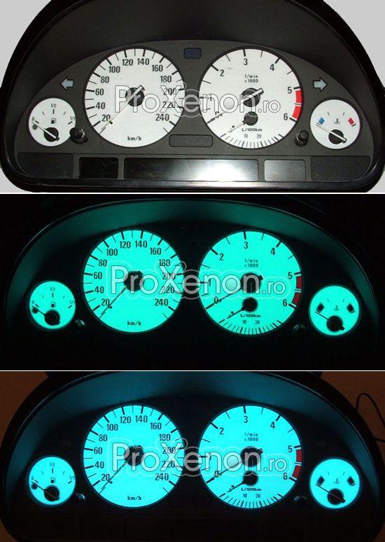 Ceasuri plasma BMW Seria 5 E39 (1996-2003) – modelul nr.1