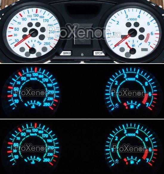 Ceasuri plasma Renault Megane 2 (2002-2005) – modelul nr.2