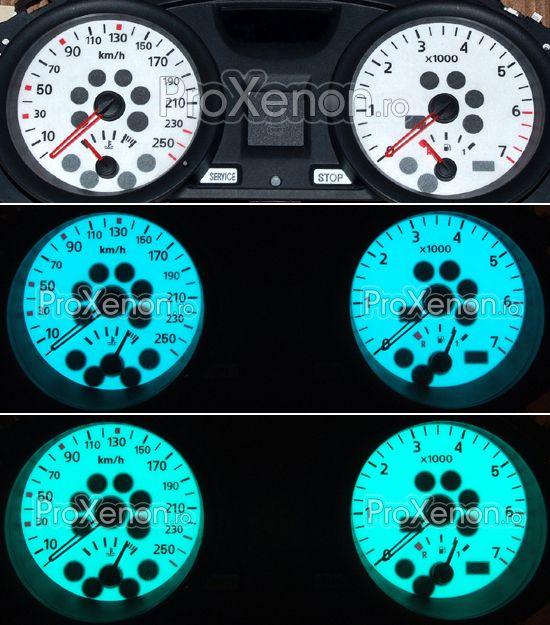 Ceasuri plasma Renault Megane 2 (2002-2005) – modelul nr.1