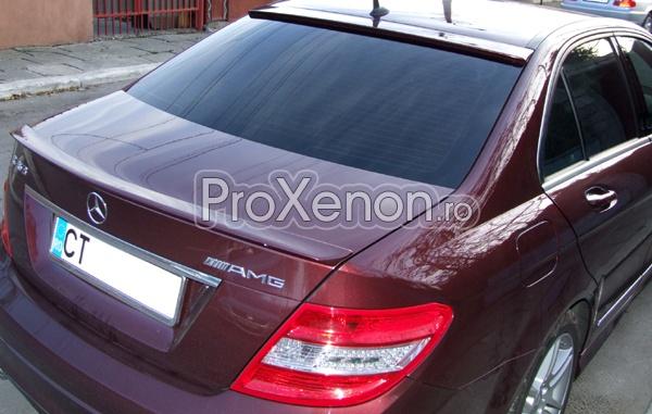 Spoiler luneta Mercedes Benz C Class W204 (2007+)