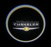 Led Laser Logo Chrysler
