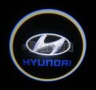 Led Laser Logo Hyundai