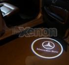 Led Laser Logo Mercedes Benz