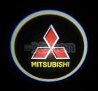 Led Laser Logo Mitsubishi