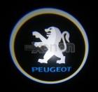 Led Laser Logo Peugeot