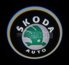 Led Laser Logo Skoda